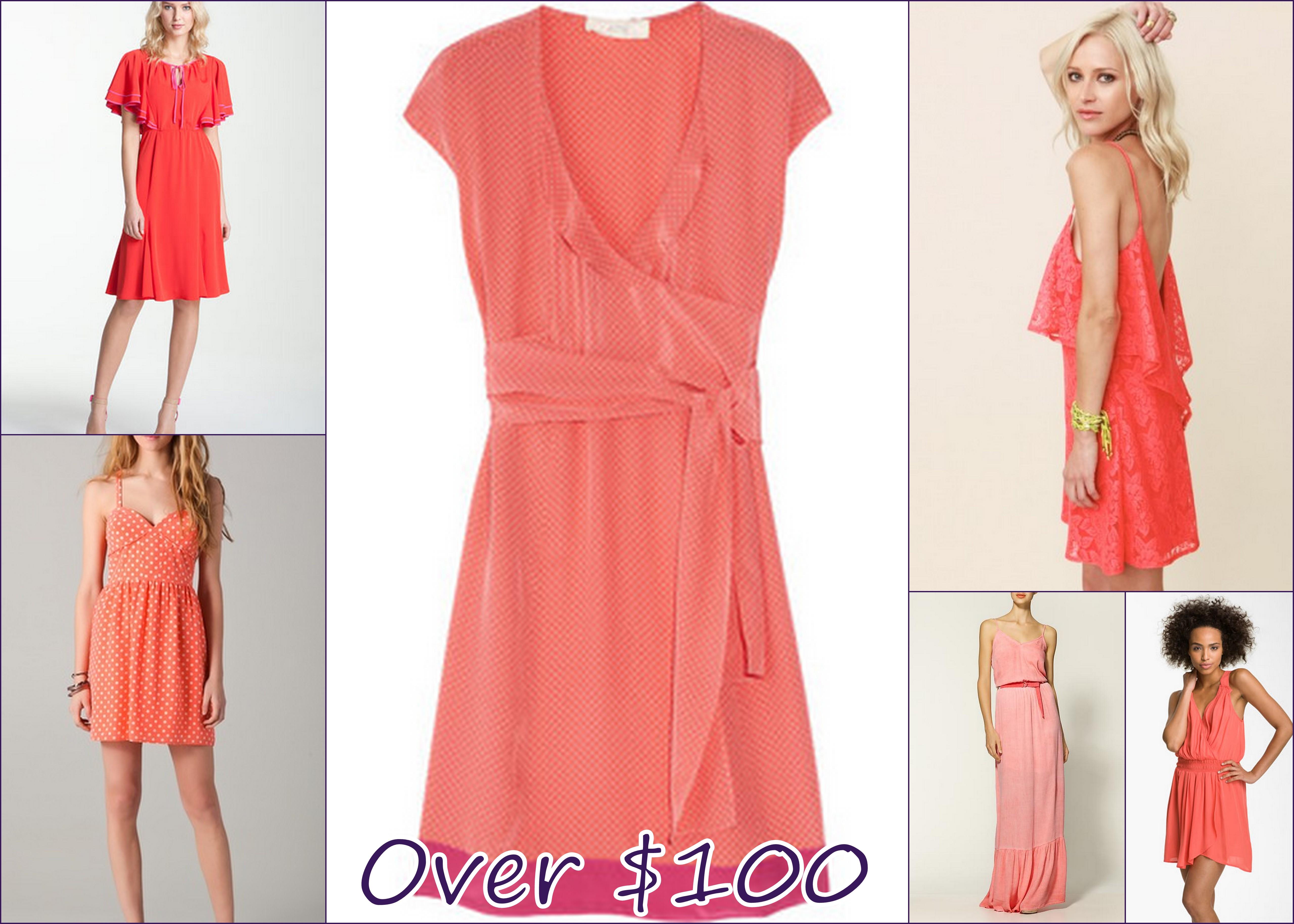 Coral Dresses | HIPLIP