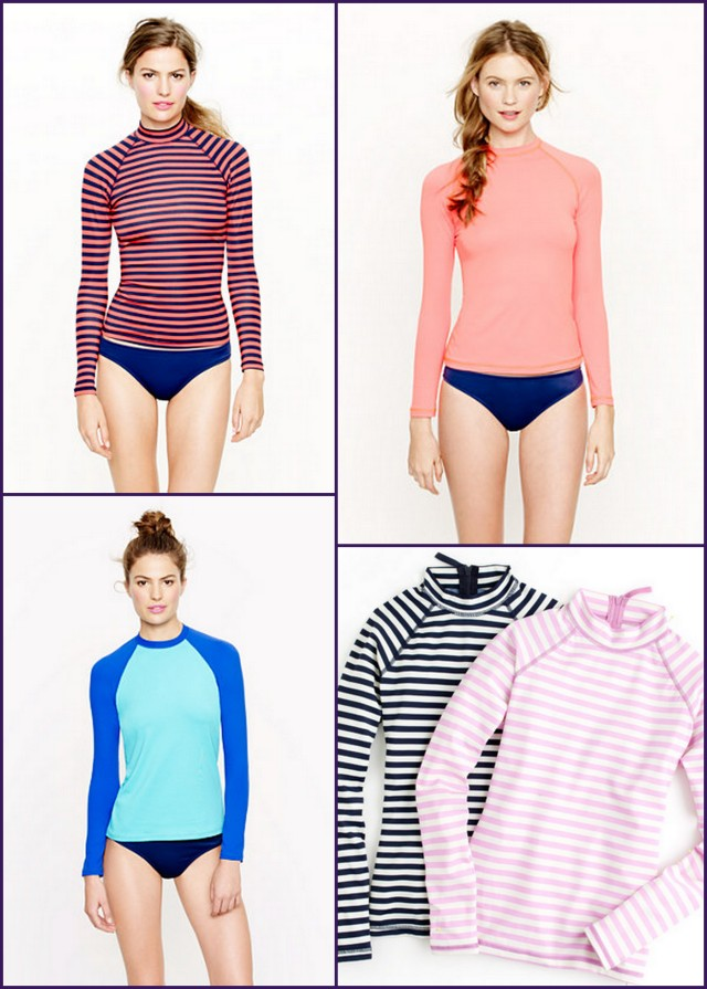 JCrew Rash Guards
