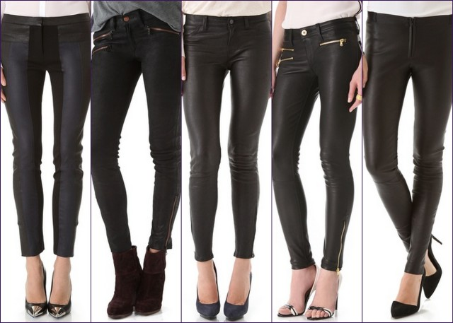 Leather Pants on Sale