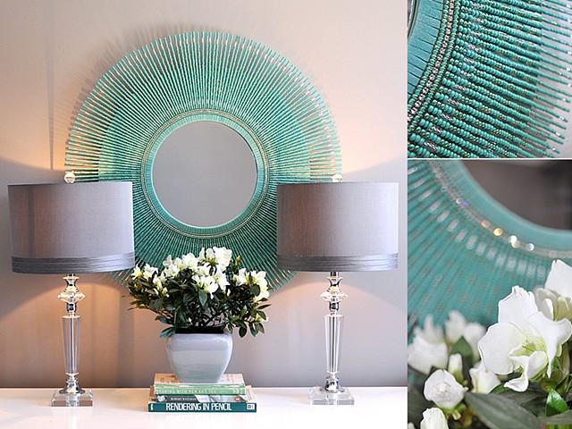 mirror 1 turquoise mirror