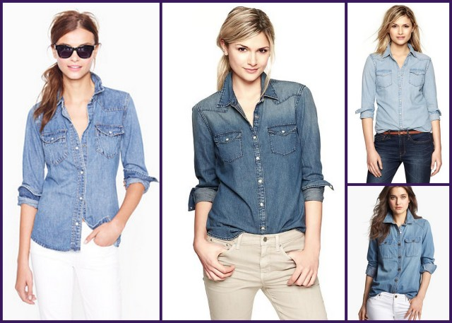 Denim Shirts Western Denim Shirts